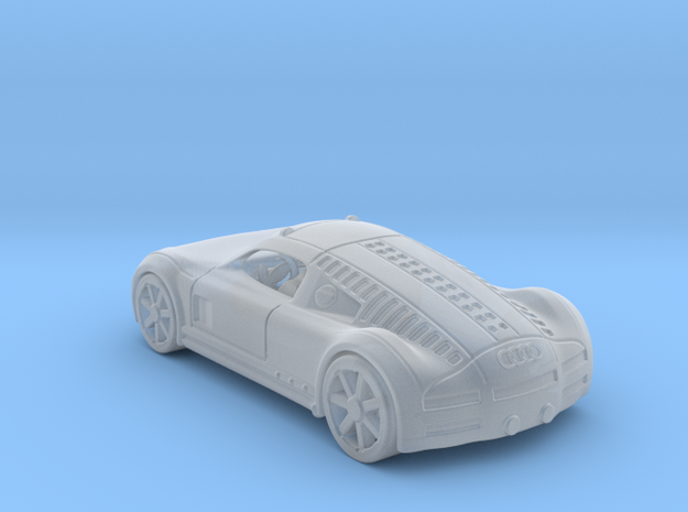 Audi Rosemeyer   1:120 TT in Smooth Fine Detail Plastic