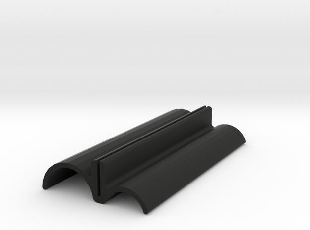 Front Wing Footplates for Improved Aerodynamic Eff in Black Natural Versatile Plastic