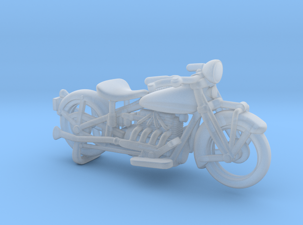 Indian Four 1930 1:87 HO in Smooth Fine Detail Plastic