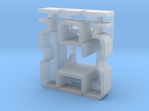 Topre to MX 6u Stabilizer Housing (Left) in Smooth Fine Detail Plastic