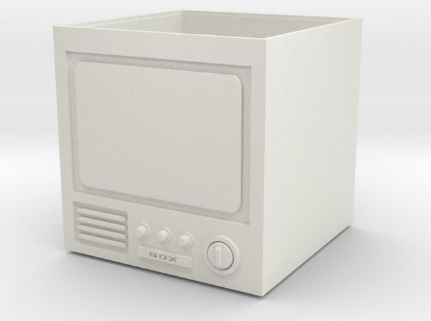 TV box in White Natural Versatile Plastic