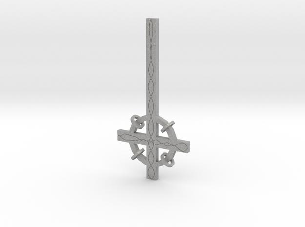 Cross buckle in Aluminum