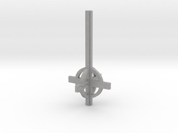 Cross frame in Aluminum