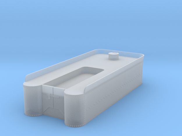 HOn3 tender tank in Smooth Fine Detail Plastic