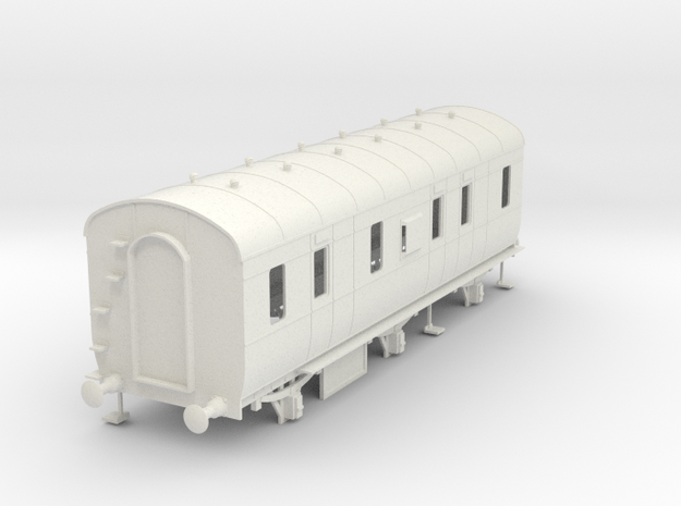 o-32-lms-d2000-6w-passenger-brake-coach in White Natural Versatile Plastic