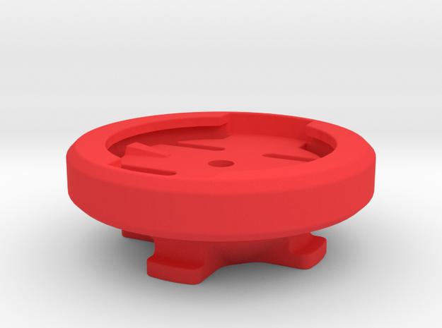 Garmin to Lezyne GPS Adaptor in Red Processed Versatile Plastic