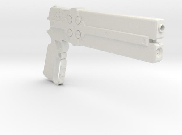 1/3rd Scale Cerberus Gun in White Natural Versatile Plastic