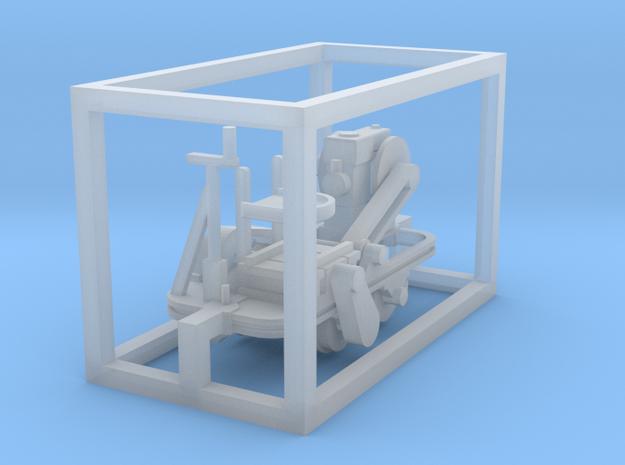 Schienenkuli Nr35 - TTf 1:120 in Smooth Fine Detail Plastic