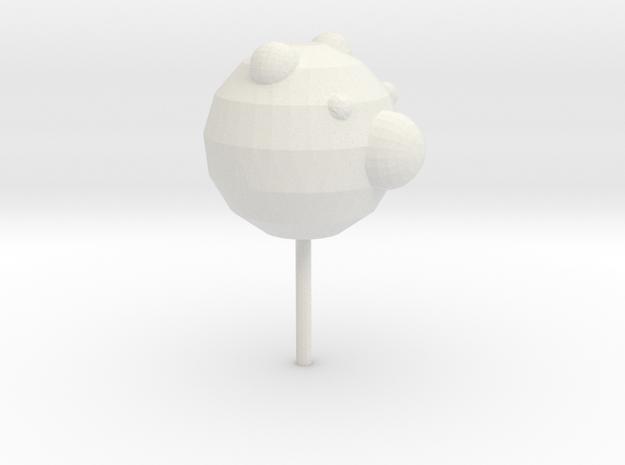 lollipop in White Natural Versatile Plastic