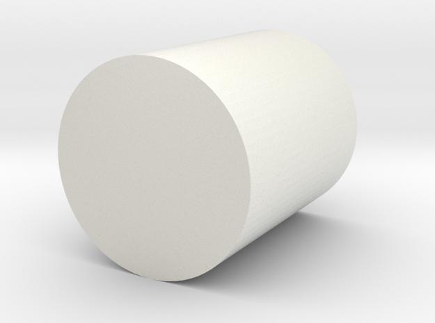 Wheel frame pen holder in White Natural Versatile Plastic