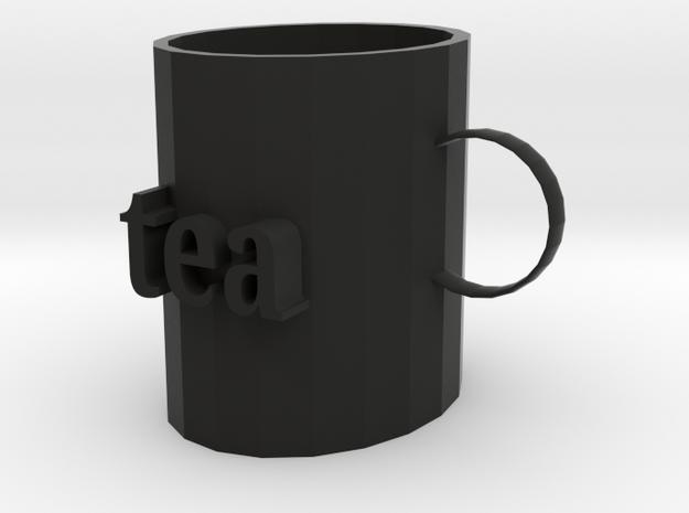 Exclusive modeling cup in Black Natural Versatile Plastic
