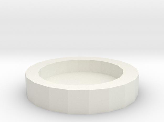 Canine tableware in White Natural Versatile Plastic