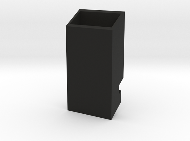 Mystery Phone Rack in Black Natural Versatile Plastic