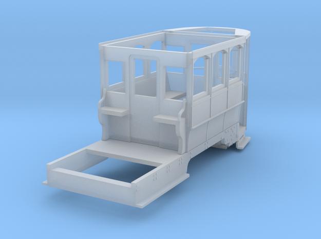 Wellington Tram Orig. Cond. front Half in Smooth Fine Detail Plastic