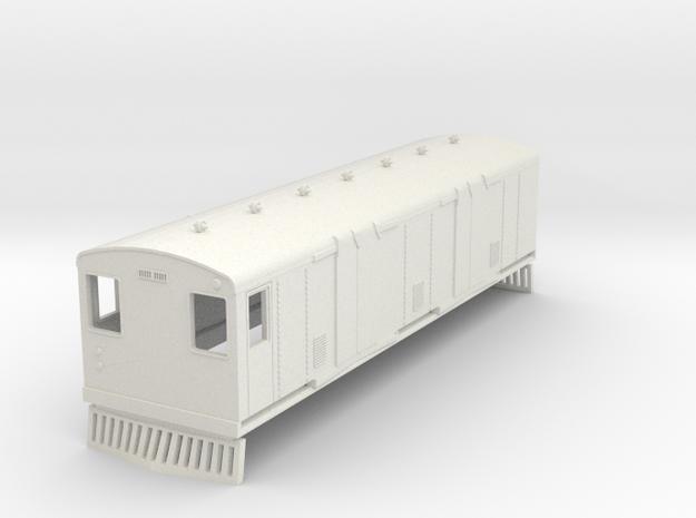 o-76-bermuda-railway-trailer-van-40 in White Natural Versatile Plastic