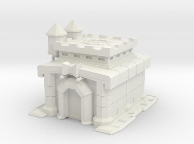 TH10 Building - 10cm in White Natural Versatile Plastic