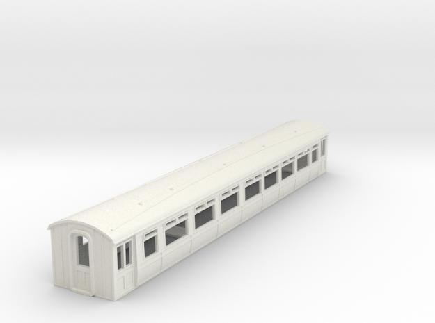 o-76-lnwr-siemens-trailer-coach-1 in White Natural Versatile Plastic