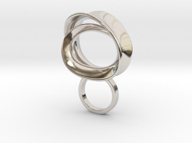 Conto - Bjou Designs in Rhodium Plated Brass
