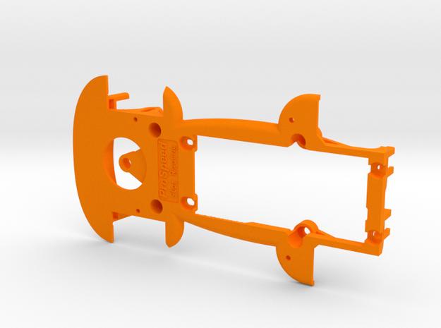 PSCA01701 chassis for Carrera VW Käfer Gr. 5 in Orange Processed Versatile Plastic