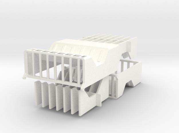 Liebherr HS895HD cooling housings in White Processed Versatile Plastic