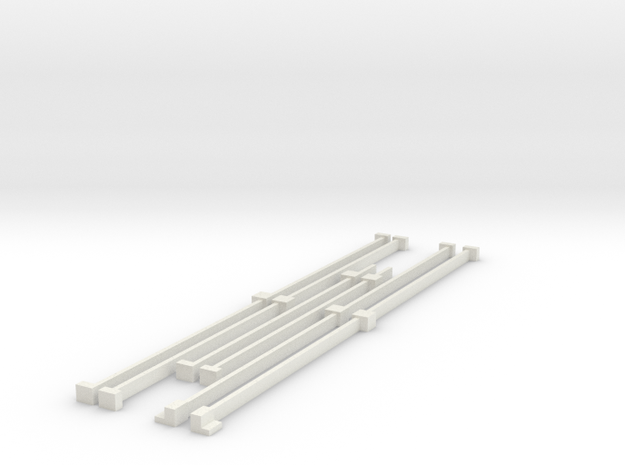 sherman sand rails in White Natural Versatile Plastic