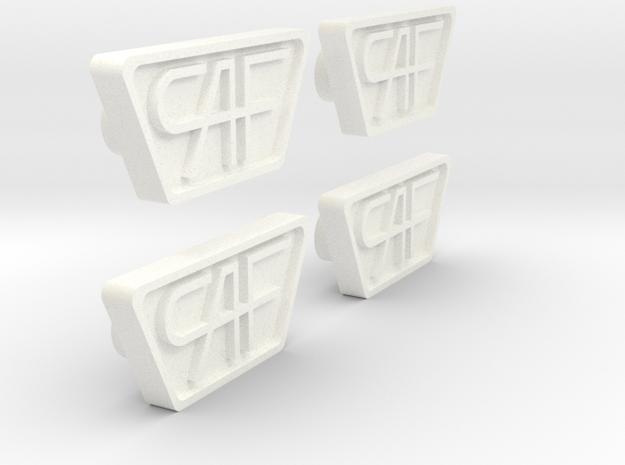 Placa CAF Testera 440 in White Processed Versatile Plastic