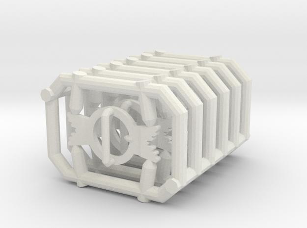 1:6 BUCKLE X6 in White Natural Versatile Plastic