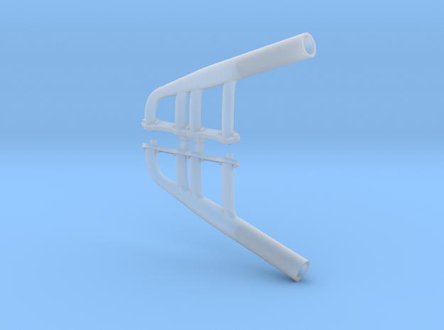 1/16 Y-Block Lakes Headers in Smooth Fine Detail Plastic