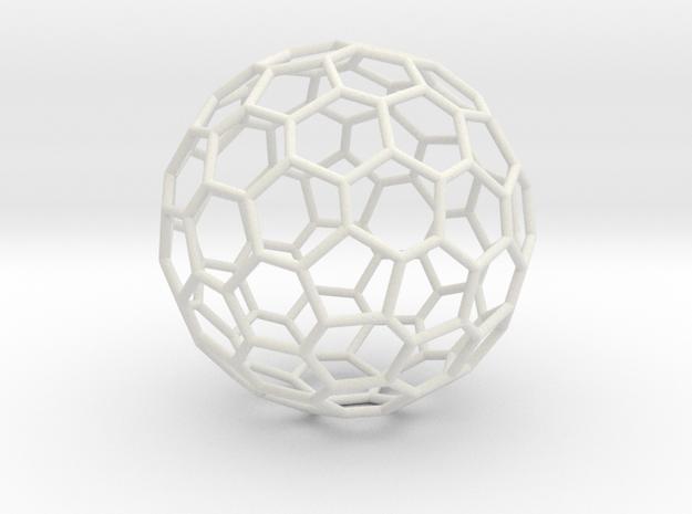 Fullerene-72 in White Natural Versatile Plastic: Large