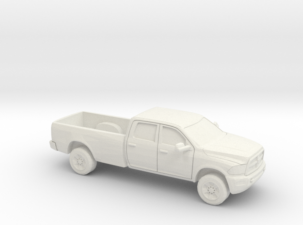 1/48 2013 Dodge Ram Crew Long Bed Shell in White Natural Versatile Plastic