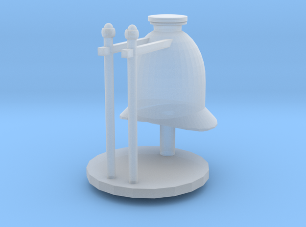 Coffee Pot Boiler Dome in Smoothest Fine Detail Plastic