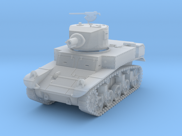 PV197C M3 Satan Flame Tank (1/87) in Smooth Fine Detail Plastic