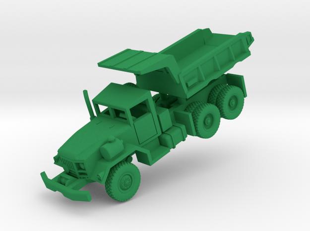 M817 Dump Truck in Green Processed Versatile Plastic: 1:144