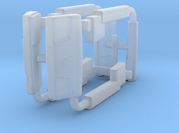 (2) 2019 & NEWER POWER ADJUST MIRROR SETS - BR in Smooth Fine Detail Plastic