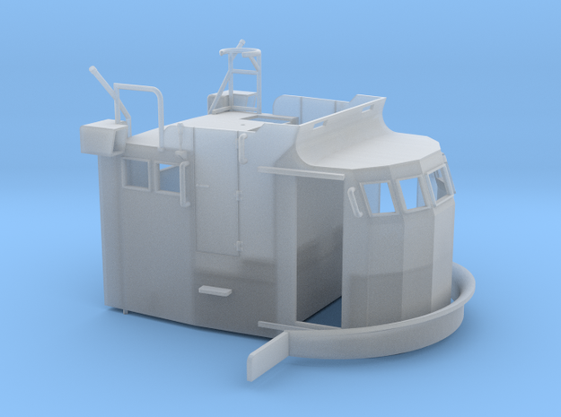 S38 Wheelhouse 1 to 72 in Smooth Fine Detail Plastic
