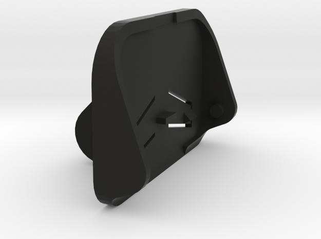 Petzl GoPro adaptor in Black Natural Versatile Plastic