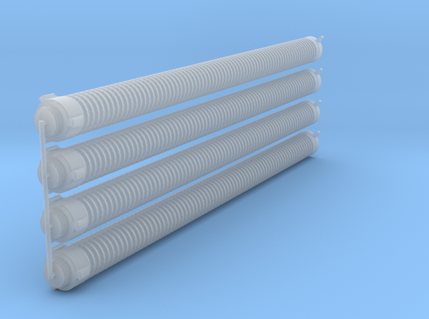 6in_lug_hard_suction_hose in Smooth Fine Detail Plastic