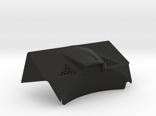 Lasernut Replica Tail Panel for UCFab in Black Natural Versatile Plastic