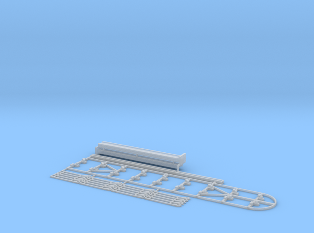 N Intermodal Chassis Rack in Smooth Fine Detail Plastic