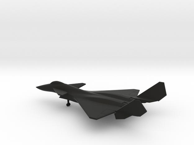 Shenyang J-14 in Black Natural Versatile Plastic: 6mm