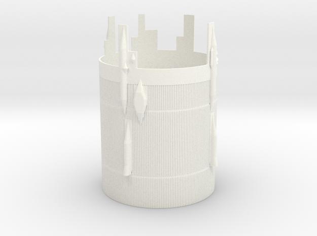 1 100 sat V interstage in White Processed Versatile Plastic