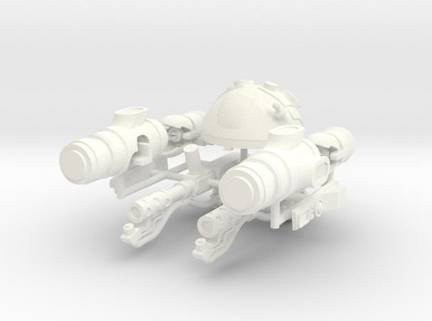 SPACE LEGION FIRESTARTER  in White Processed Versatile Plastic