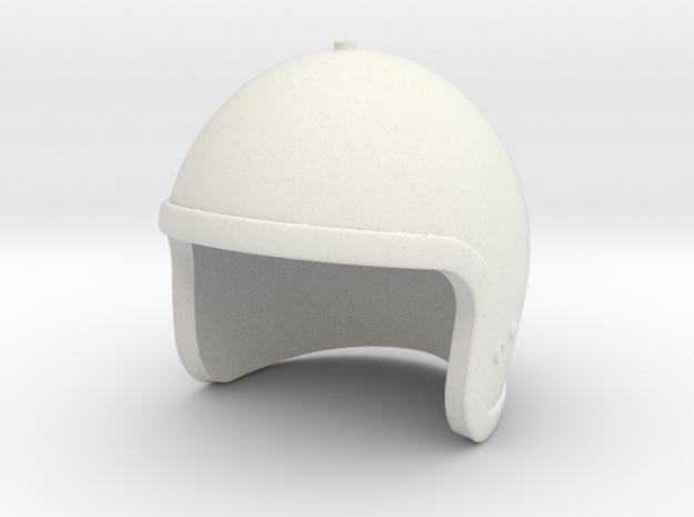 Lost in Space Helmet (Smaller version) in White Natural Versatile Plastic