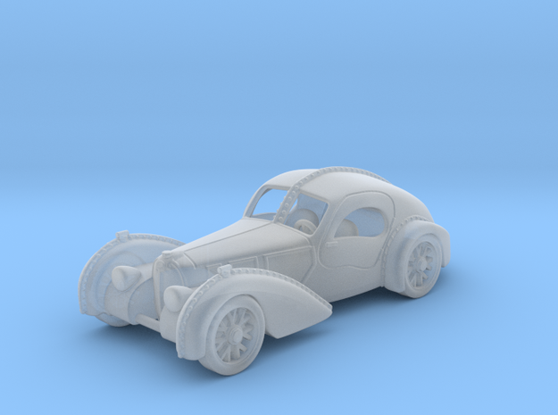 Bugatti Atlantic 1938  1:120 TT in Smooth Fine Detail Plastic