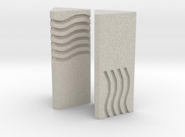 Element Stones Set 1 in Natural Sandstone
