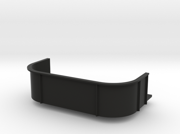 1/96 scale CVE Gun Double Tube in Black Natural Versatile Plastic