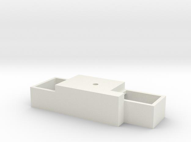Proto 2000 HO GP38-2 Baffle in White Natural Versatile Plastic