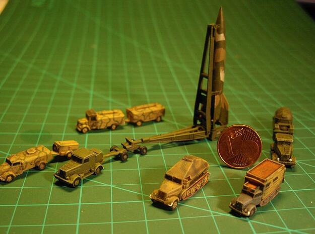 V2 Rocket Batterie 1/285 6mm