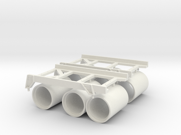 1 zu 20 roll of rack and depth charges in White Natural Versatile Plastic