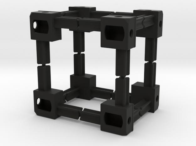 1:14 Container Corners / Ecken für Alfer Profile  in Black Natural Versatile Plastic
